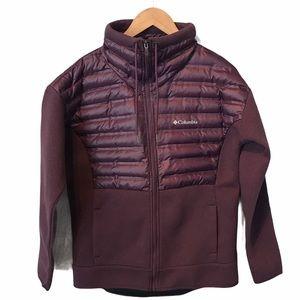 Columbia Peak District hybrid puffer down jacket L